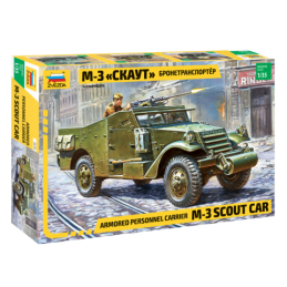 KIT 1/35 VEHICULO M-3 SCOUT...