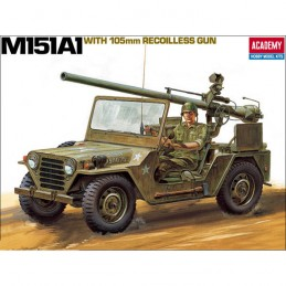KIT 1/35 VEHICULO M-151A1...