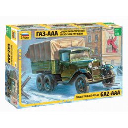 KIT 1/35 CAMION GAZ-AAA 3 EJES