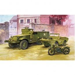 KIT 1/72 M-3 HALF TRACK...