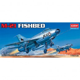 KIT 1/72 AVION MIG-21 FISHBED