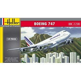 KIT 1/125 AVION BOEING 747...