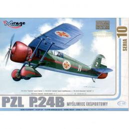 KIT 1/48 AVION PZL P.24B...